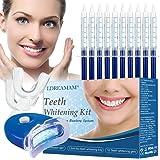Blanqueamiento dental,Kit de Blanqueamiento Dental Gel,Blanqueamiento de Dientes,Para Manchas de Humo,Dientes Negros,Dientes