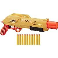 NERF Tiger DB-2 Nerf Alpha Strike Toy Blaster, Includes 12 Official Elite Darts, For Kids, Teens, Adults