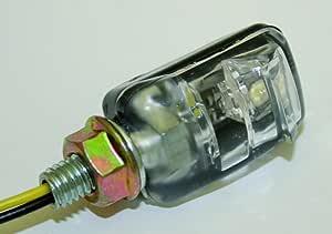 Shinyo Led Nummernschildbeleuchtung Paar Picco M6 Unisex Multipurpose Ganzjährig Kunststoff Schwarz Auto