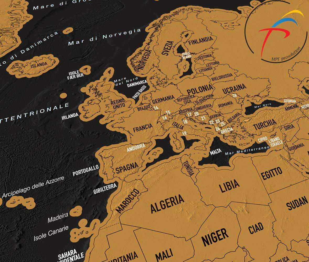 Cartina Mondo Gratta.Mappa Del Mondo Da Grattare Mpfpro Solution Mappa Da Grattare Mappa Mondo Da Grattare Grande Planisfero Da Grattare Gratta I Posti Dovesei Stato Poster Muro Da Grattare 82 5x59 4cm Faceshopping
