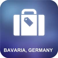 Bayern, Deutschland Karte