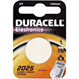 Duracell Specialties CR2025 126 mAh Non Rechargeable Electronics Battery (Pack of 2)