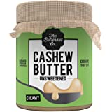 The Butternut Co. Cashew Butter Unsweetened, 200 gm (No Added Sugar, Vegan, High Protein, Keto)