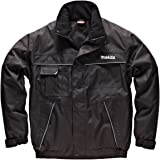 Makita Mens Anti-Pill Fleece Jacket Contrast Panels Chest Pocket With Zip Access Mobile Phone Pocket Casual Walking Comfortable Warm Hardwearing /& Durable Unisex Outdoor Mw118