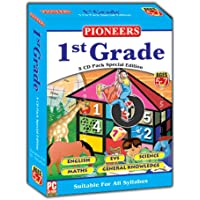 PIONEERS GRADE- 1 English EVS Science Maths GK CD (Pack of 5) Universal Syllabus