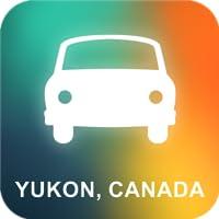 Yukon, Kanada GPS Navigation