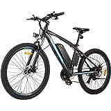 BIKFUN 27.5 Zoll E-Bike Elektrofahrrad mit 10 Ah Lithium-Akku, Mountainbike Shimano 21-Gang 250W Motor Elektrisches…