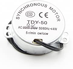 AST Works Pro TYC 50 12V 50/60Hz Synchronous Motor 5/6RPM CW CCW Microwave Turntable