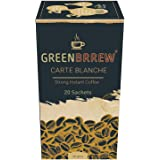 Greenbrrew Decaffeinated & Unroasted Green Coffee for Weight Loss - Strong Flavor (20 Sachets, 60g)