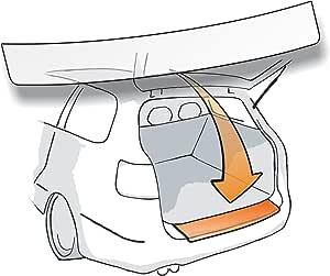 Ladekantenschutz Lackschutzfolie Schutzfolie In Transparent Passend Für Fahrzeug Modell Siehe Beschreibung 150µm Transparent Auto