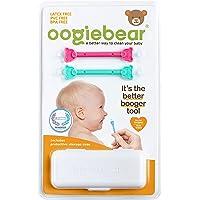 oogiebear Doppelpack - patentierter Nasen (Rotz) und Ohrenschmalzreiniger für Neugeborene und Kleinkinder. Aspirator…