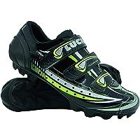 LUCK Scarpe da Ciclismo Master, con Suola in Carbonio e Tripla Striscia di Velcro per Un Supporto Perfetto