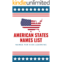 American States Names List : Learning words for kids