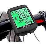 BACKTURE Cuentakilómetros para Bicicleta, 5 Idiomas Impermeable Computadora de Bicicleta, Velocímetro inalámbrico Bicicleta c