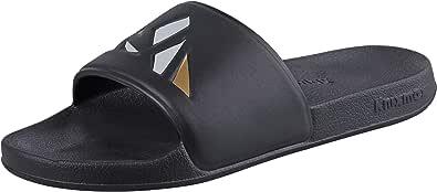 Knixmax Men Women Sliders Shower Gym Beach & Pool Shoes Open Toe Slide Sandals