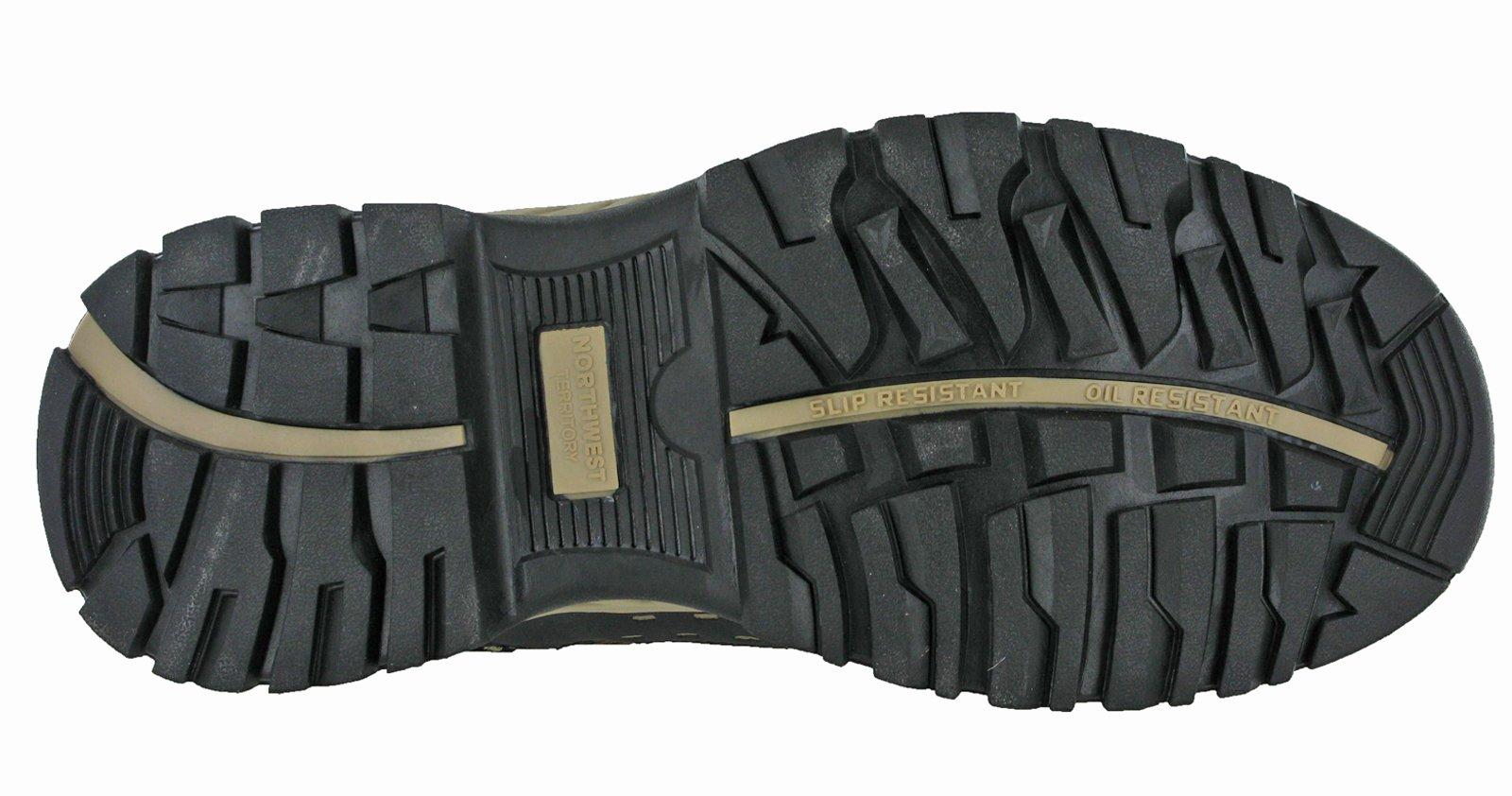 Northwest Mens Piers Hi Cut Brown/Beige Ankle Walking Boots 7