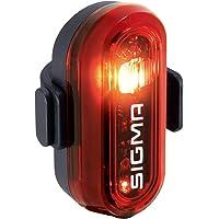 SIGMA SPORT - Curve   LED Fahrradlicht   StVZO zugelassenes, batteriebetriebenes Rücklicht   Farbe: Schwarz, Uni