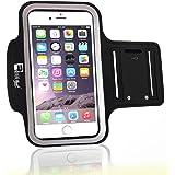 RevereSport Fascia da Braccio per iPhone 7/8. Armband Custodia Porta Telefono per Corridori, Allenamenti, Palestra, Fitness e Sport
