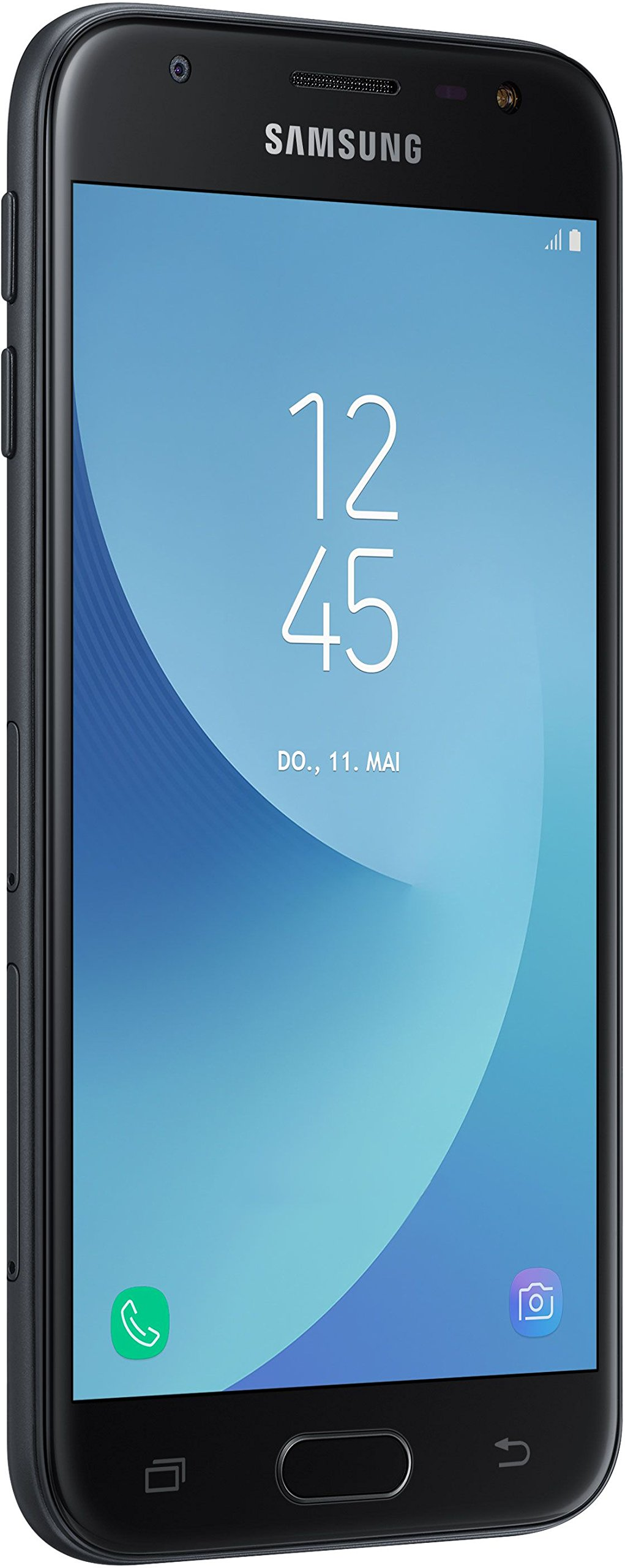 Samsung Galaxy J3 Smartphone (12,67 cm (5 Zoll) Display, 16 GB Speicher, Android 7.0)