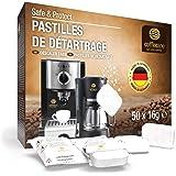 50pastilles de détartrage Coffeeano XL pour machines à café. Pastilles de détartrage compatibles avec les machines de toutes