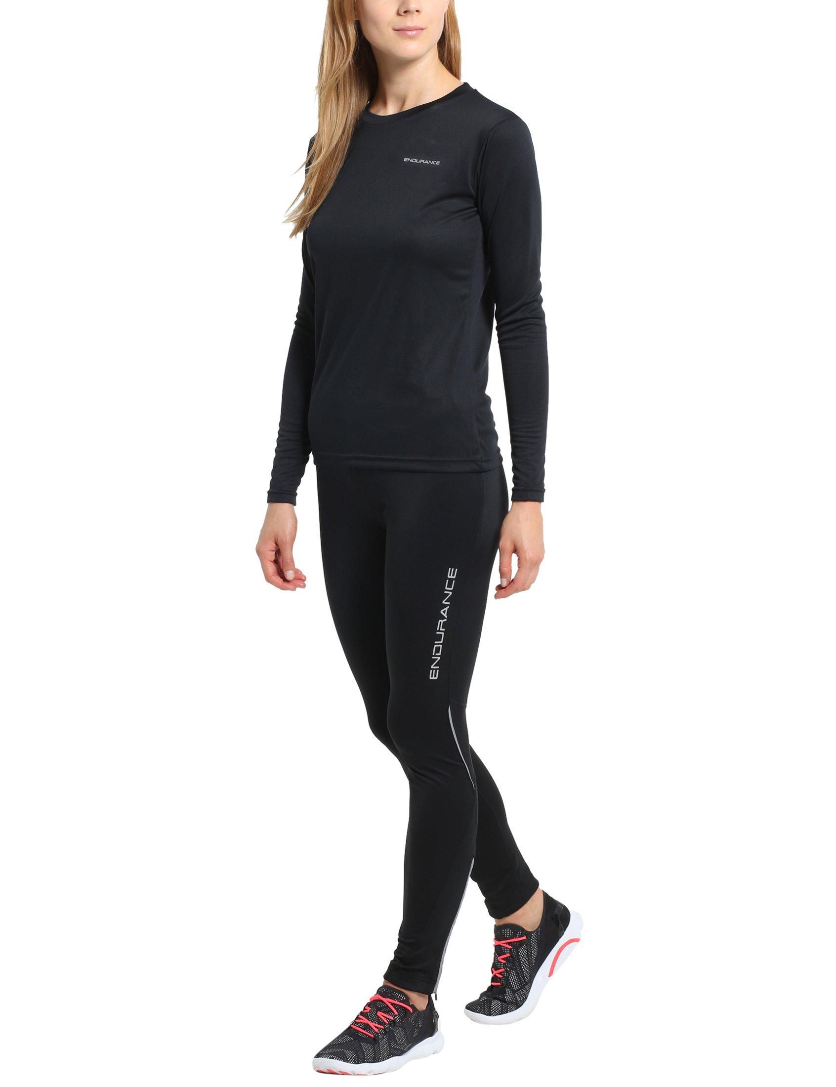 STARK SOUL sous-v/êtements Techniques Microfibre pour Femme Pantalon ou T-Shirt Manches Longues