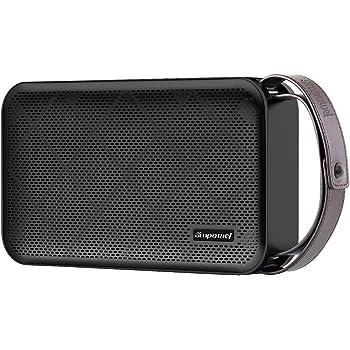 Simpowel V10 - Speaker Bluetooth 4.0 bassi profondi 20W altoparlante portatile senza fili con TI DSP Serie 5 e costruire in Micro SD Lettore MP3 e microfono - fino a 10 ore di autonomia