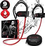 [Nouveauté 2020] Ecouteur Bluetooth, Écouteurs Sans Fil Sport Étanches pour l'entraînement Course, Gym, Jogging - Écouteur Waterproof IPX7 Ecouteurs de Sport - Réduction du Bruit pour iPhone & Android