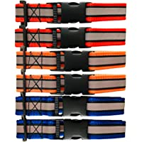 BNB Reflective Collars for Dogs (Multi-Color) Set of 6 , High Reflection , for Street Dogs