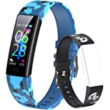 Dwfit Pulsera Actividad Inteligente Reloj Inteligente para Niños Niñas, Impermeable IP68 Deportivo Smartwatch con Podómetro P
