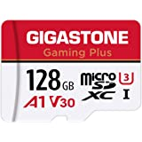 Gigastone 128GB Micro SD Card, Gaming Plus, Nintendo-Switch Compatible, High Speed 100MB/s, 4K Video Recording, Micro SDXC UH