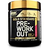Optimum Nutrition Gold Standard Pre Workout Energy Drink Powder with Creatine Monohydrate, Beta Alanine, Caffeine and…