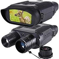 Jumelles de Vision Nocturne Numérique pour la Chasse 7x31 avec Caméra Infrarouge HD TFT LCD 2 Pouces et Caméscope Portée…