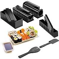 Hbsite Kit Sushi, 10 Pcs Sushi Maker Kit, Kit d'outils de fabricant de sushi pour la maison de bricolage pour rouleaux…