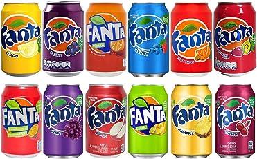Fanta Mix-Set 12 Dosen, inklusive Pfand !