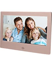"Epyz HD Ready Digital Photo Frame with Fully Functional Remote (7"" inch, Gold)"