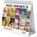 Grupo Erik CS21022 Calendario da Tavolo 2021 Disney Classic Films, calendario da scrivania 2021, 20 x 18 cm