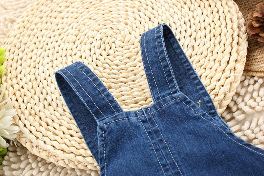 Kidscool - Pantalones cortos de verano para bebés y niñas con orejas amarillas grandes 3