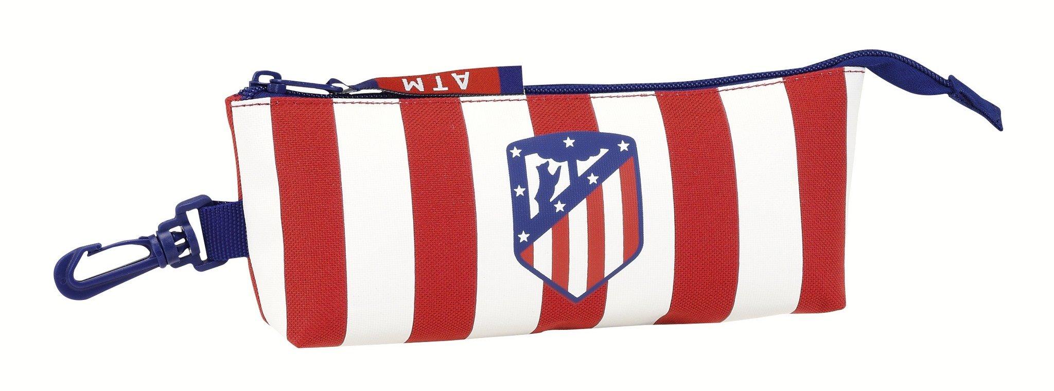 Safta Estuche grande Atlético De Madrid Oficial Triangular Ovalado 200x50x85mm