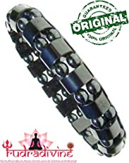 Rudra Divine Powerful Magnetic Black Bracelet for Men and Women