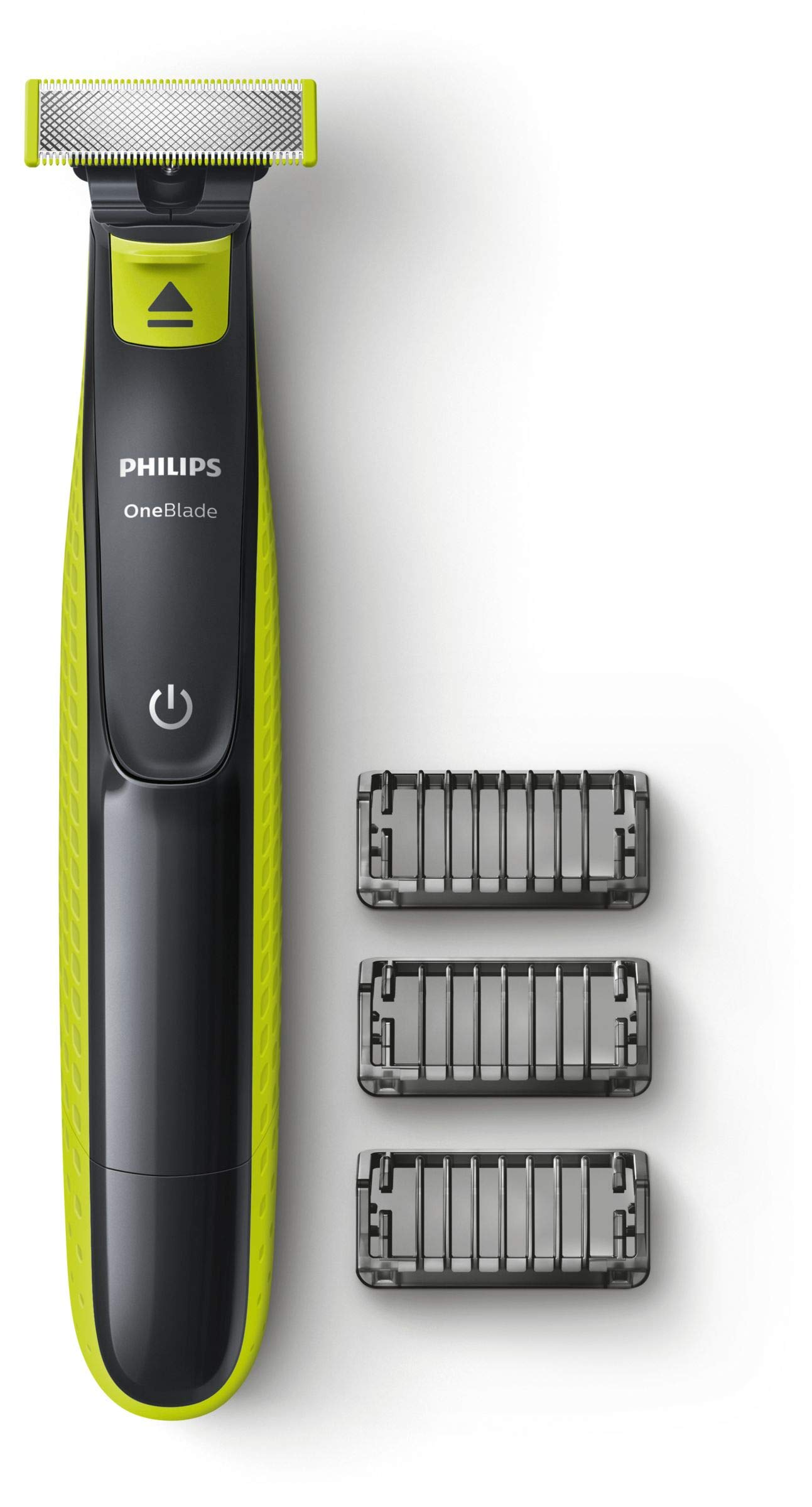 Philips QP252025 OneBlade Rechargeable Facial Trim Edge Shave Hair Trimmer With 3 X Styling Combs