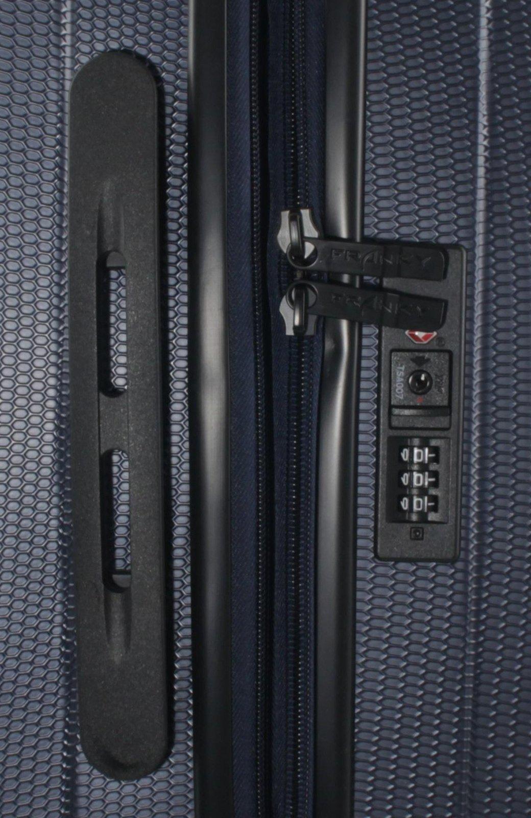 Franky-4er-Kofferset-Hartschalenkoffer-Spnner-mit-TSA-Schloss-Dunkelblau