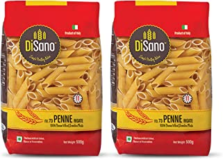 Disano Penne Durum Wheat Pasta, Pack of 2 (2 x 500 GMS)