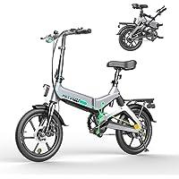 HITWAY Elektrofahrrad Klapprad Ebike Elektrofahrräder Klappräder Faltrad 250W elektrisches Fahrrad E-Bike mit 7,5 Ah…