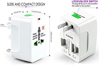 cartup™ International Universal Travel Charger Adapter - White