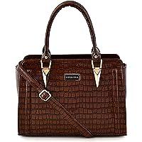 Bellissa Brown Handbag for Women