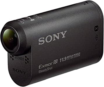 Sony AS20 ultrakompakte leichte ActionCam (Full HD, Carl Zeiss Optik mit F2.8, Ultra-Weitwinkelaufnahmen, Foto-Intervallaufnahmen) inkl. Unterwassergehäuse/Halterung