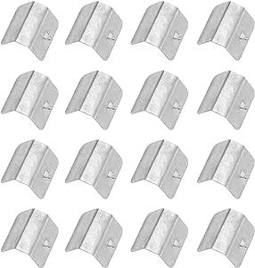 16 Stück Wind Regen Befestigungsclips Clips Klammern Umlenkklammern Set Kohlenstoffstahl Halterung Für Heko G3 Sned Universal Ersatz Auto