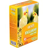 JiMMy Mix Fruit Pellets and Calcium Bird Food for Cockatiel, 400 g