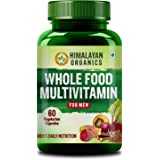 Himalayan Organics Whole Food Multivitamin for Men || with Natural Vitamins, Minerals, Extracts || Best for Energy, Brain, He
