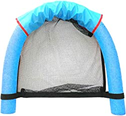 Forberesten Swimways Floating Pool Noodle Sling Mesh Chairs - Water Relaxation